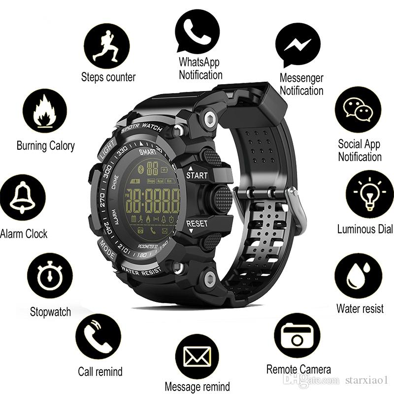 Time Owner Bluetooth Clock EX16 Smart Watch Notification Remote Control  Pedometer Sport Bluetooth Watch IP67 Waterproof Mens Wristwatch Agent Smart  Watch All Smartwatches From Starxiao1, $14.08| DHgate.Com