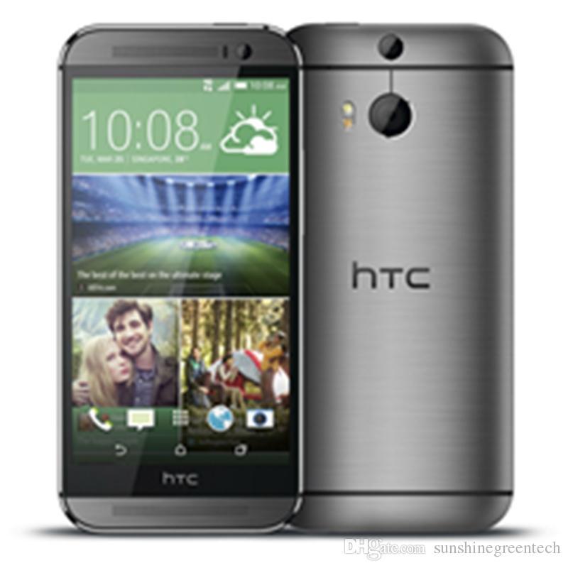 الهواتف التي تم تجديدها HTC One M8 Gray Silver Gold Unlocked Phone 5.0 inch 2GB RAM 32GB ROM Cell Cell