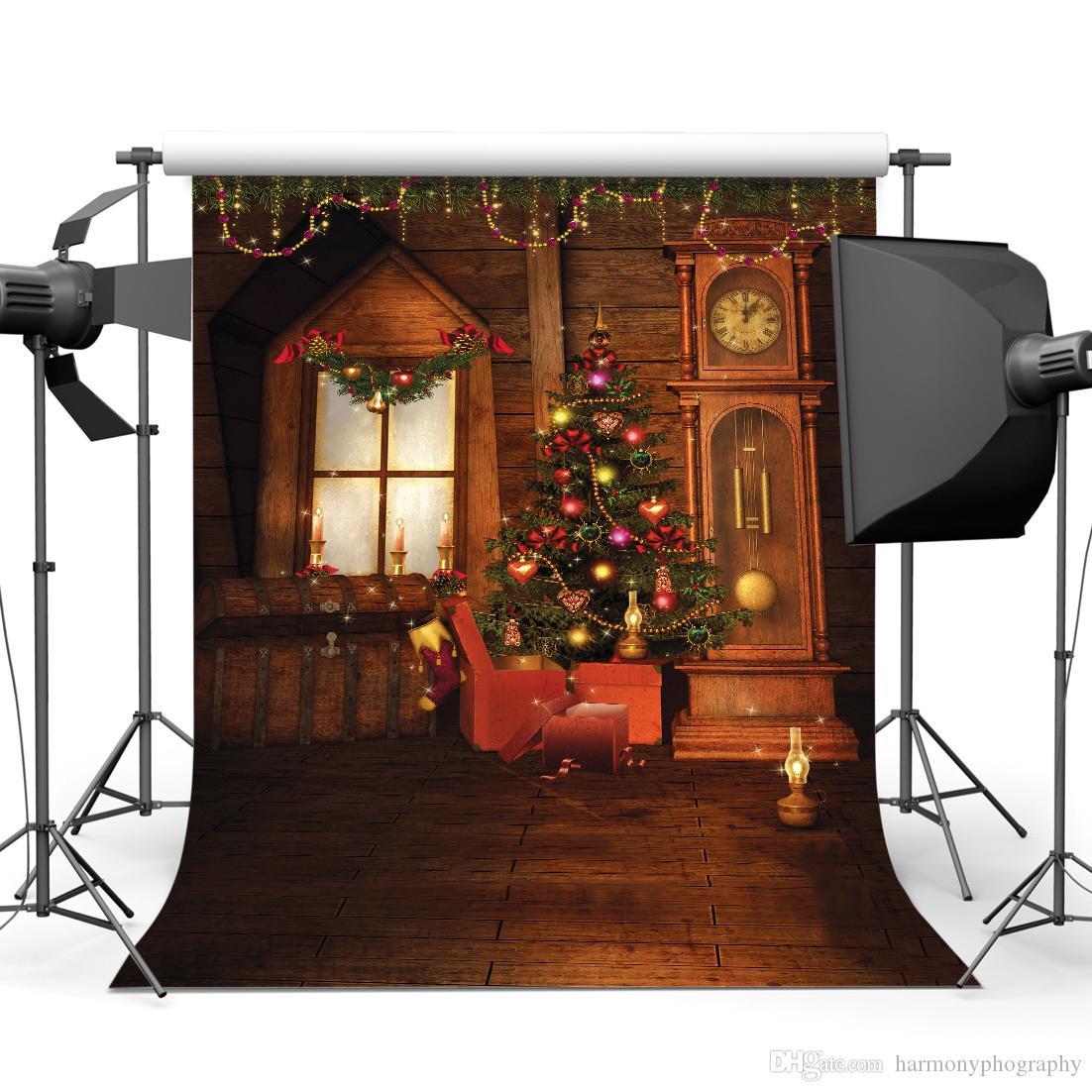 Рождество 5x7ft камера fotografica фонов винил ткань фотографии фоны свадебные Дети Детские фон для фотостудии 10297