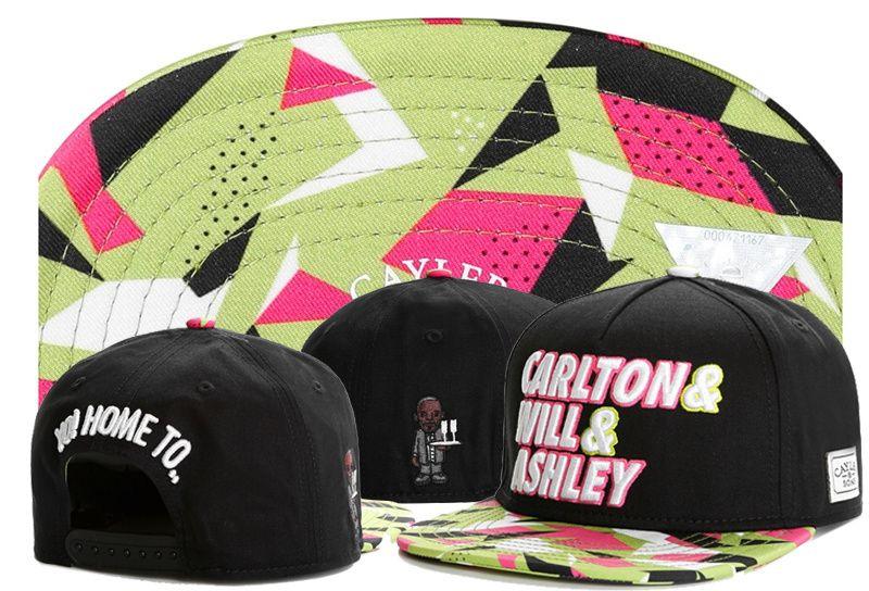무료 배송 코튼 Cayler 아들 Snapbacks 블랙 Unisex 캐주얼 힙합 모자 남성용 조정 가능한 야구 모자 여성