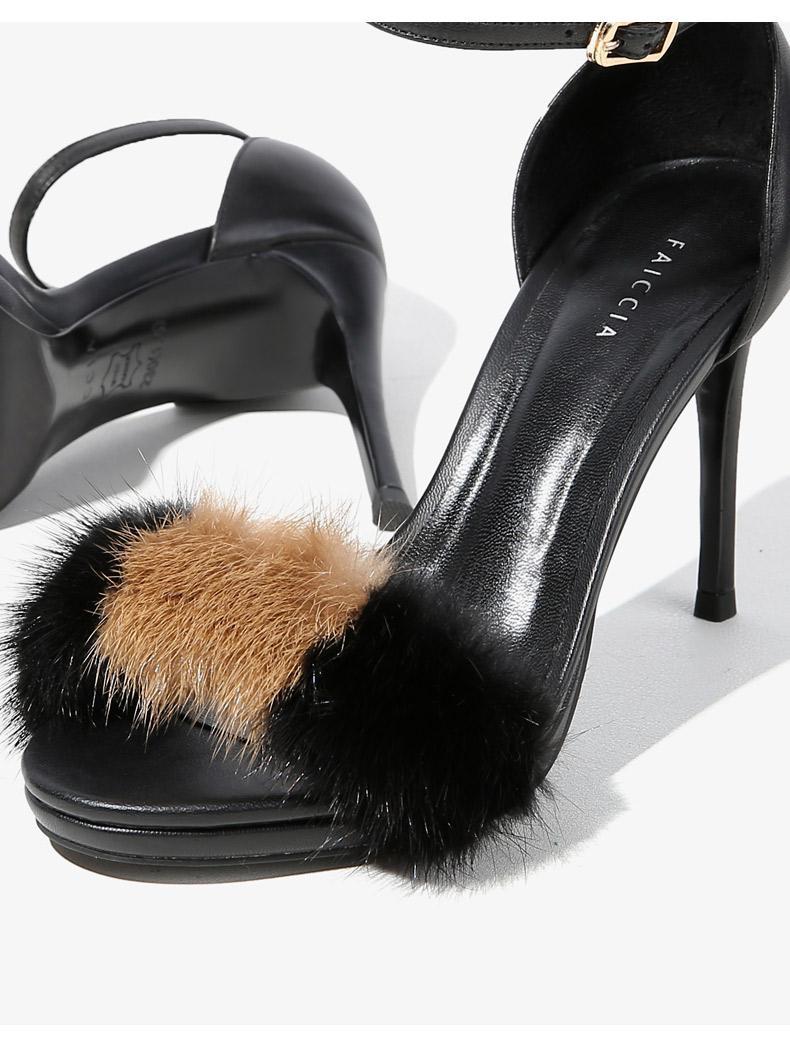 Großhandel Fashion Lady Stiletto Heels Marke High Heels Sandalen Offene Zehe Knöchel Wrap Binden Frau Sandalen Mit Absatz Pumps Schuhe B319U Von