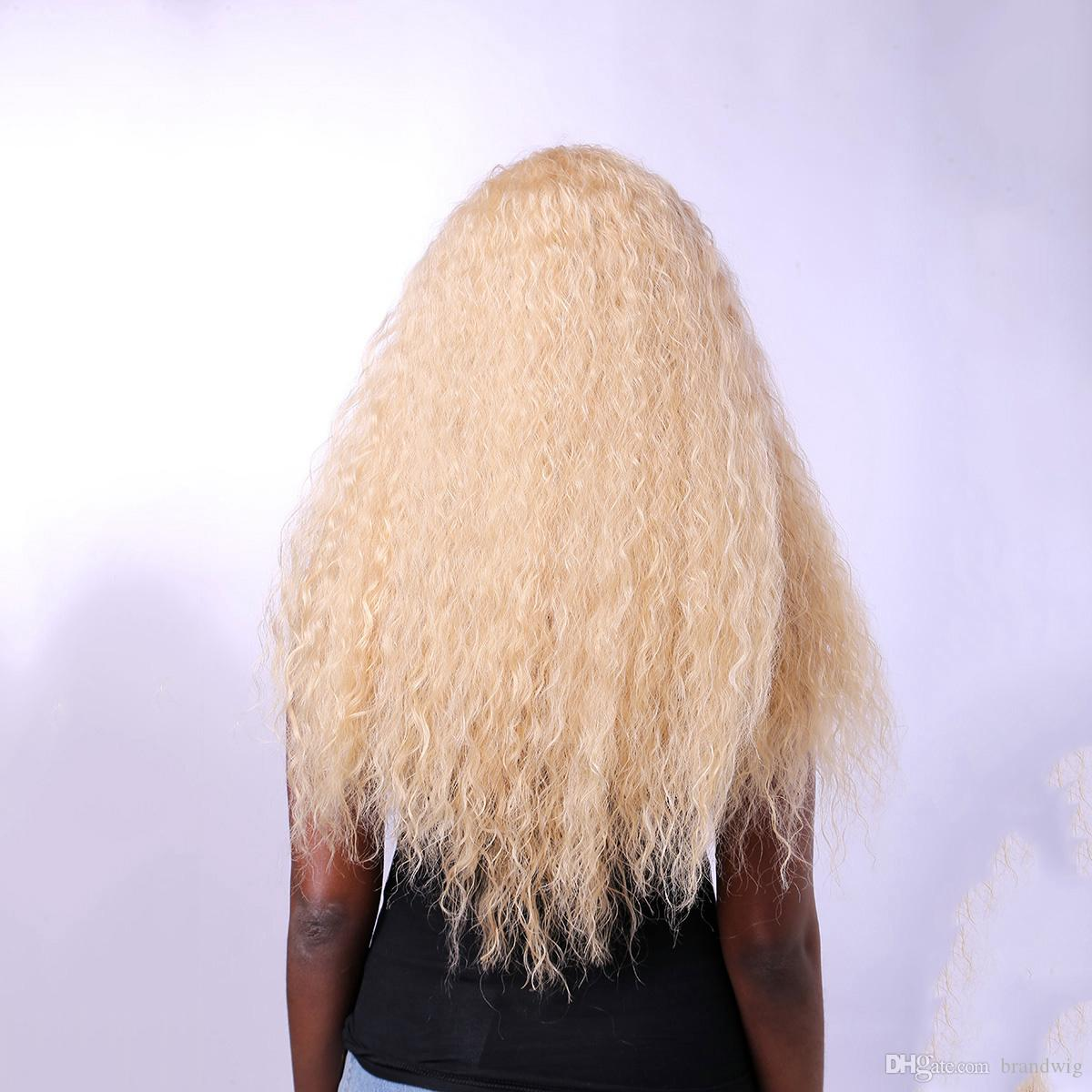 Großhandel Blonde cosplay Marke mode perücke hitzebeständige hohe ...