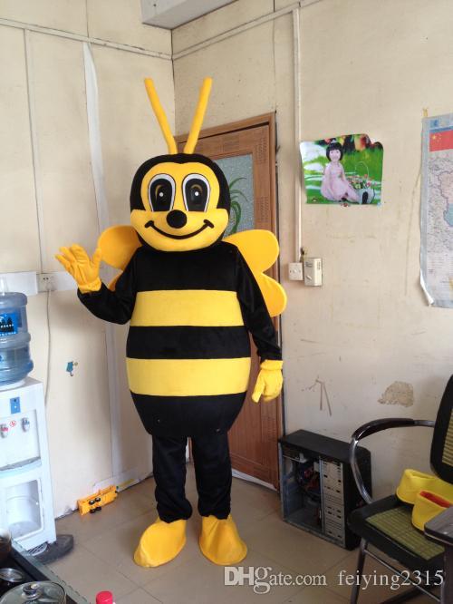 نحلة النحل التميمة حلي الكبار الحجم الأصفر التميمة حلي النحل التميمة الكرتون الملابس عالية الجودة prom اللباس شحن مجاني