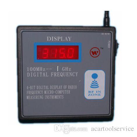 100 MHz-1 GHz Remote Frequenzzähler Meter Wireless RF Remote Transmitter Frequenz Tester Garage Fernschlüssel Frequenzmesser