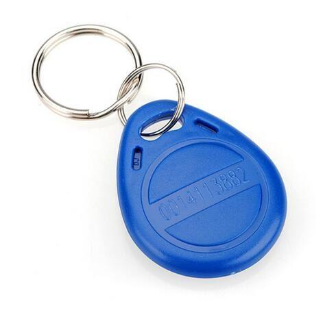 100 pcs ISO11785 Tk4100 / EM4100 125 kHz porte-clés de proximité FOB ABS Tags RFID contrôle d'accès personnalisé en plastique clé tag