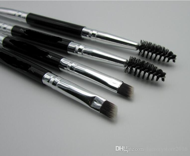 Duo Brush #12 #7 #15 #20 elf Makeup Brushes with Logo Large Synthetic Duo Brow Eyebrow Makeup Brushes Kit Pinceis Factory Wholesale