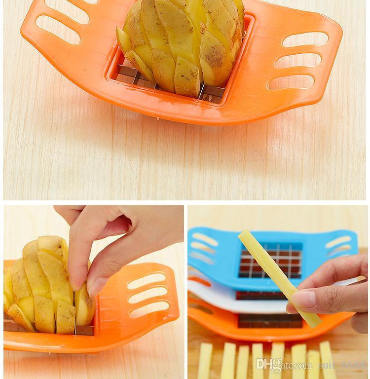 Casa creativa tagliata patatine fritte patata nuova macchina per fare patatine fritte tagliate patatine fritte tagliatrice