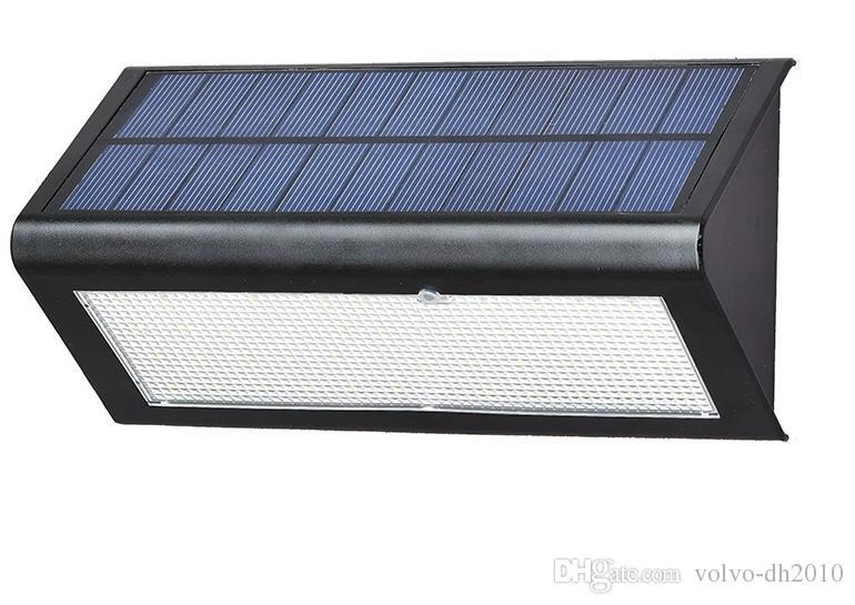 جديد وصول الرادار الاستشعار الشمسية بدعم ضوء مصباح أدى الجدار ضوء حديقة مصباح abs + pc الغلاف 6 واط 800lm ماء لمبة llfa