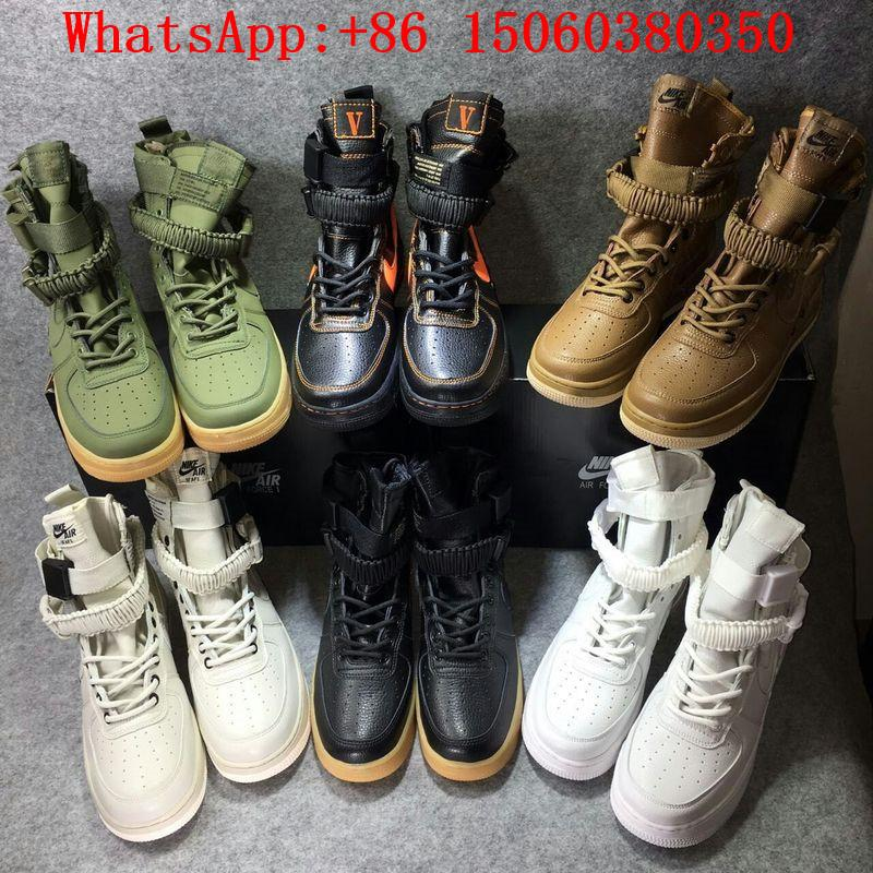 With Box 2 Straps AF 1 Men And Women SF AIR FORCE ONE HIGH SPECIAL FIELD URBAN UTILITY A$AP Rocky VLONE Running Shoes Shoe Boots For Girls Girls Boots