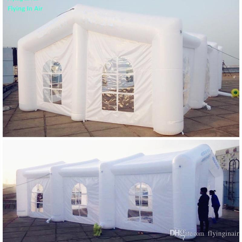 Barraca inflável esperta feita sob encomenda do casamento de 10m (L) * 6m (W) para o casamento e o evento