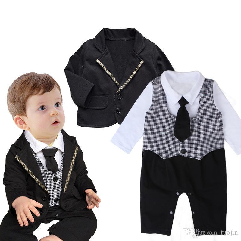 ropa para bebs establece mangas completas abrigo y trajes de mameluco piezas hermosa ropa caballero