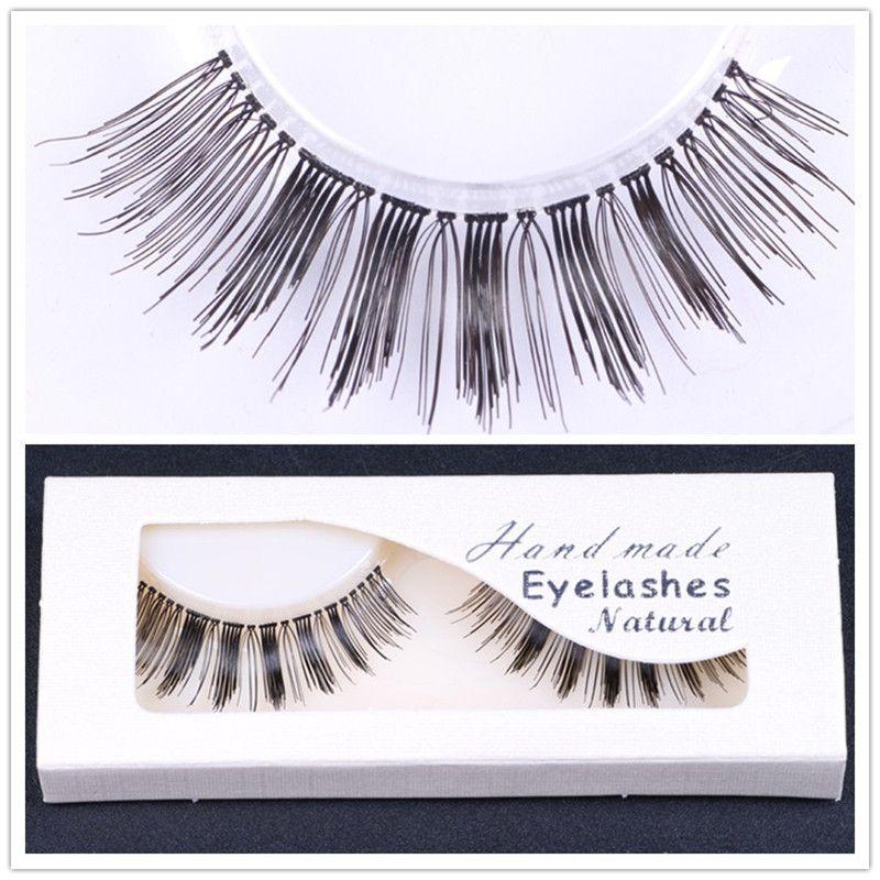 Sexy 100% False Eyelashes Handmade Beauty Thick Long Fake Eye Lashes Eyelash High Quality Beauty Thick Makeup False Eye lashes