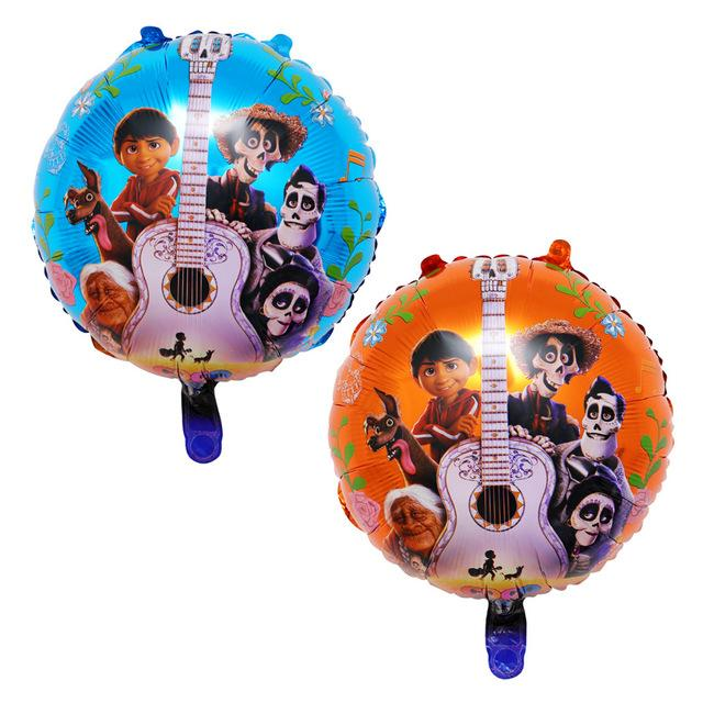 Lucky 50pcs/lot 18inch Cartoon Halloween Foil Helium Balloons Party Supplies Decorations Globos Kids Air Inflatable Toys