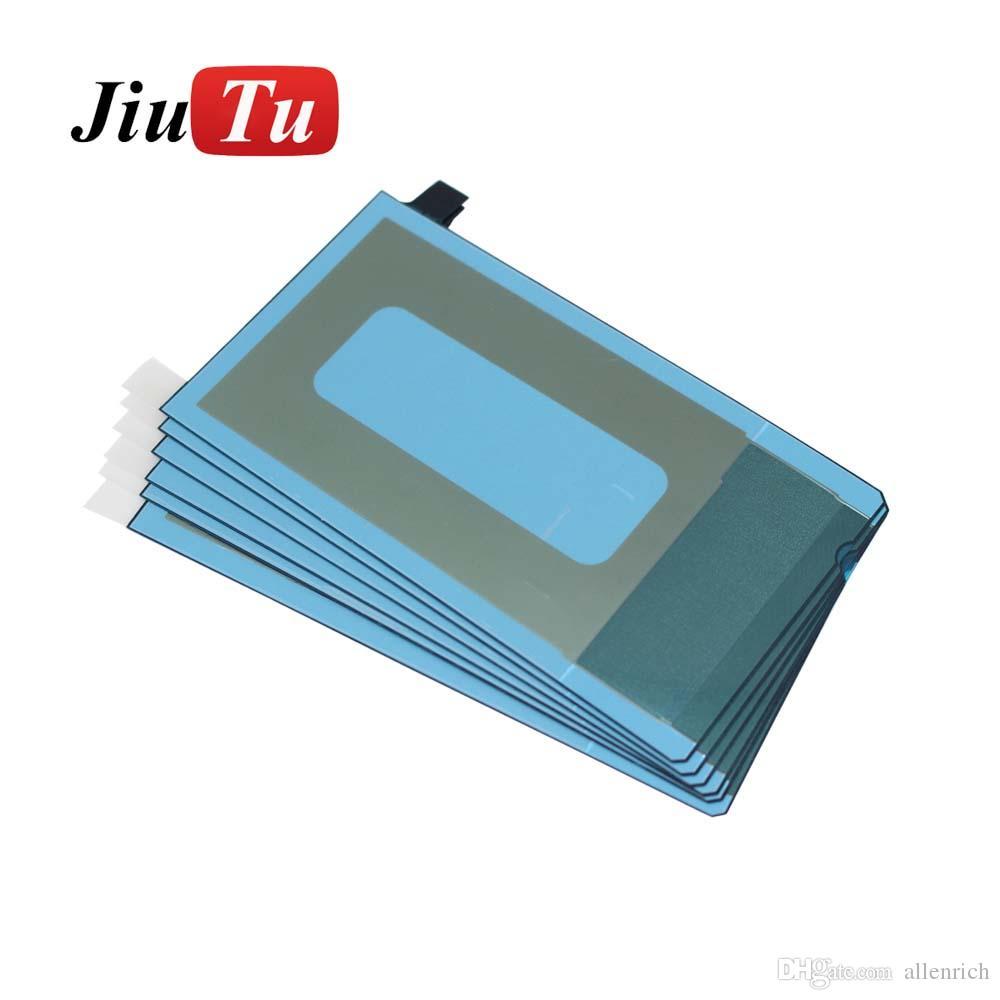 Etiqueta engomada trasera original para Samsung Galaxy S7 OLED Adhesivo posterior pegatina cinta adhesiva reparación accesorios DHL envío gratis
