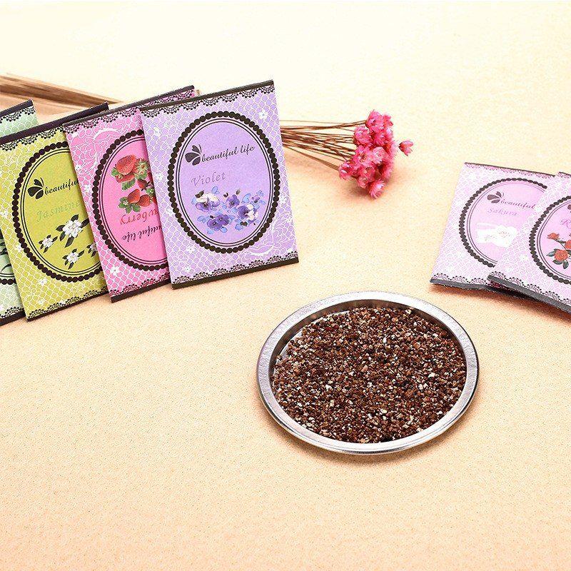 Aromatherapie Natürlichen Geruch Weihrauch Kleiderschrank Sachet Air Frische Duft Tasche Erdbeere Rose Lavendel Für Auto Home Fragrances