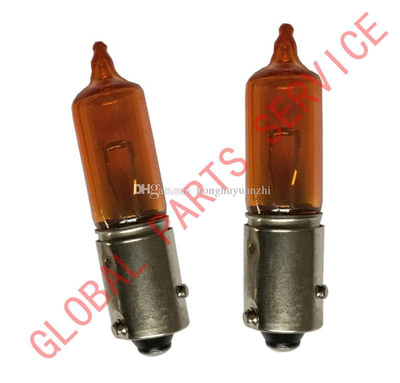2 ADET Yeni Hakiki Amber Renk Dönüş Sinyali Lambası Ampul 12146 HY21W BAW9s Gösterge Lambası Ampul 30640524 30640997