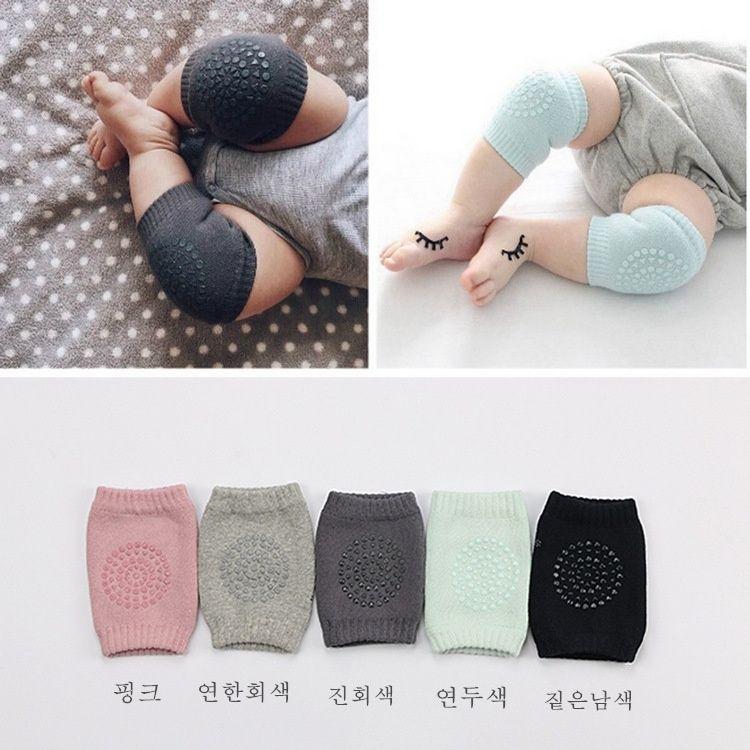 Baby Toddler Bambini Crawling Safety Protector Ginocchiere Caps Gomito Pad calze bambino Scaldamuscoli 10 paia per lotto per 6-24 mesi