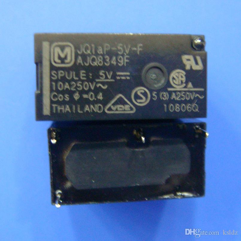 무료 배송 로트 (5 개 / 로트) JQ1AP-5V-F JQ1aP-12V-F JQ1aP-24V-F 10A250V 4PINS 파워 릴레이 오리지널 신품