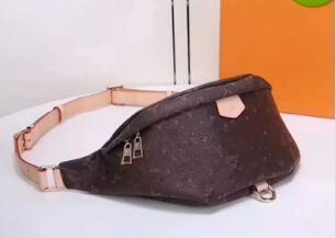 Top Diseños de PU Newest Stye Bombag Cross Body Bolsa de hombro Autn Material Bolsas de la cintura Bolbag Cross Fanny Pack BIG Bolsas Bolsas + Caja