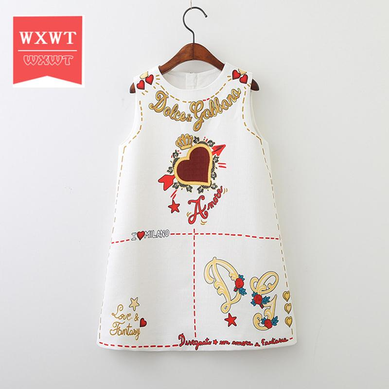 WXWT Girl Dresses with Bag 2018 Brand Children Dress Princess Costume for Kids Clothes Floral Robe Fille Christmas Dress Girl Y1891409