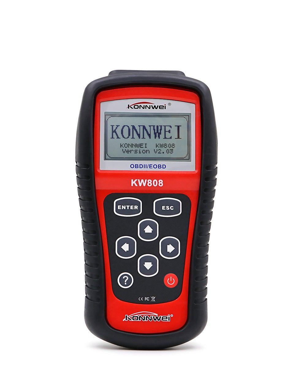 Automotive Scan Tool >> Universal Obd Car Scanner Obd2 Automotive Scanner Konnwei Kw808 Diagnostic Obdii Obd 2 Auto Scan Tool Engine Fault Code Reader Auto Diagnostic Shop