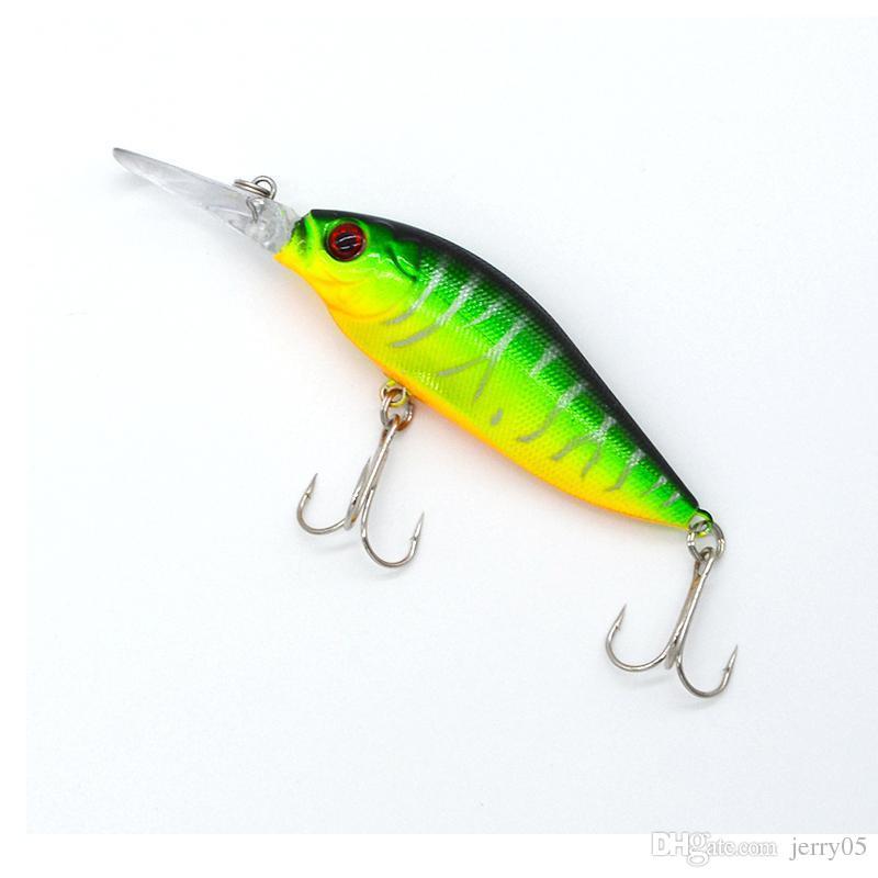 1 unids Laser Minnow señuelo de la pesca 11 cm 13.2 g pesca ganchos wobbler aparejos pesca crankbait artificial japón cebo duro swimbait