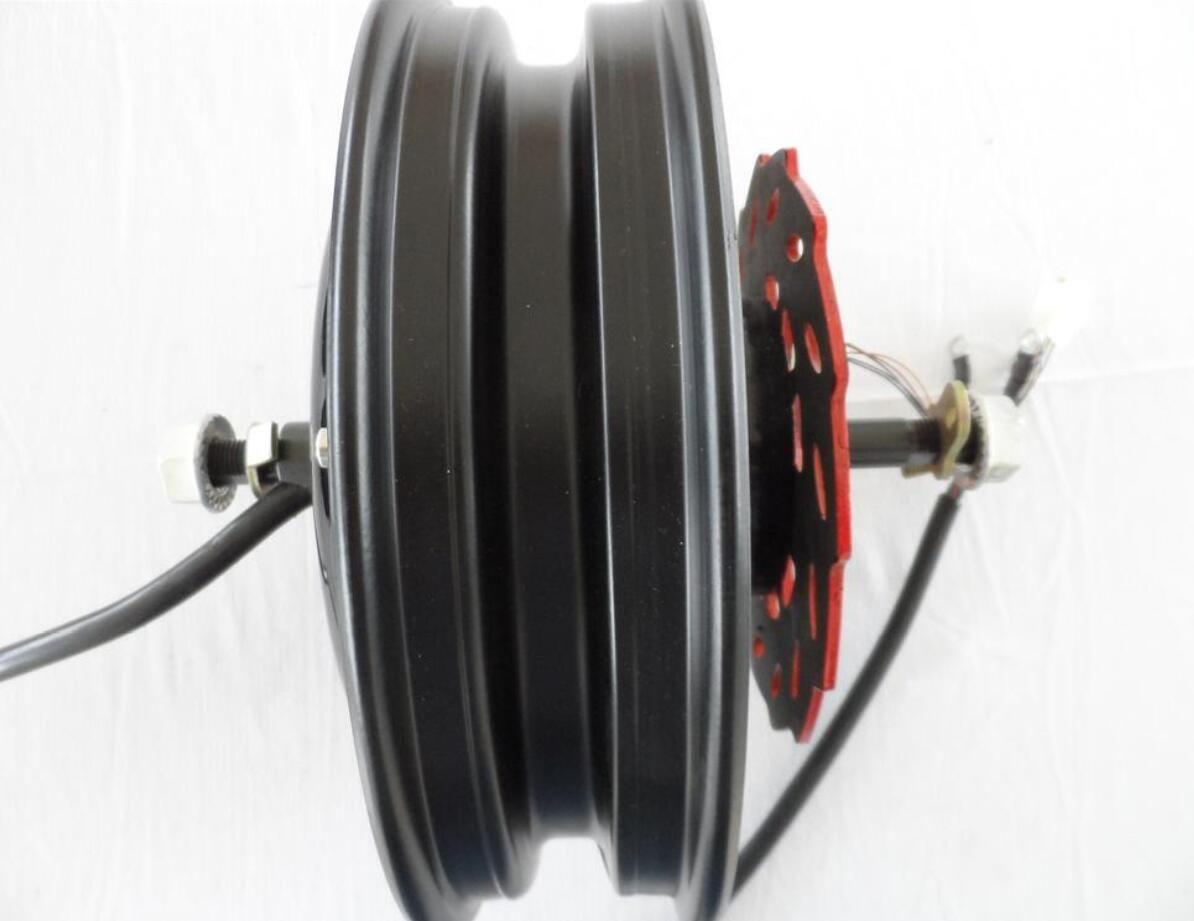 60V DC Motor Brushless Electric Motor 2500W BLDC efficiency sprocket Quad ebike