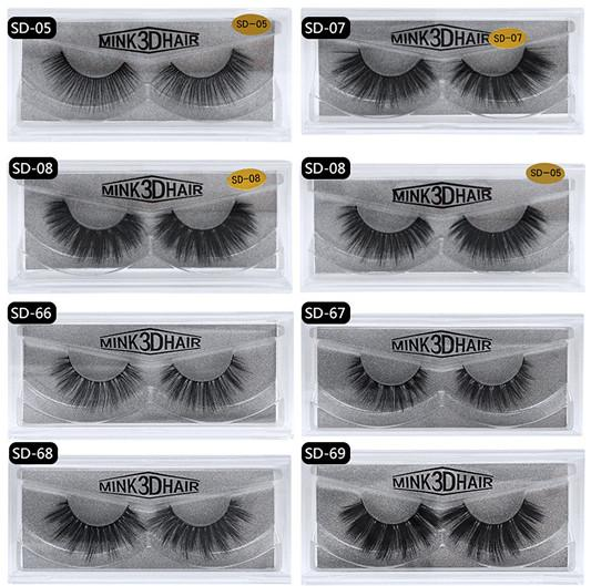 SD lashes Mix all style