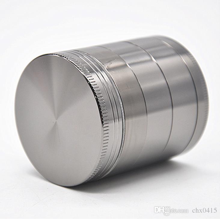 Amoladora de humo de metal aleación de zinc plana de cinco capas 50MM amoladora manual Grinder