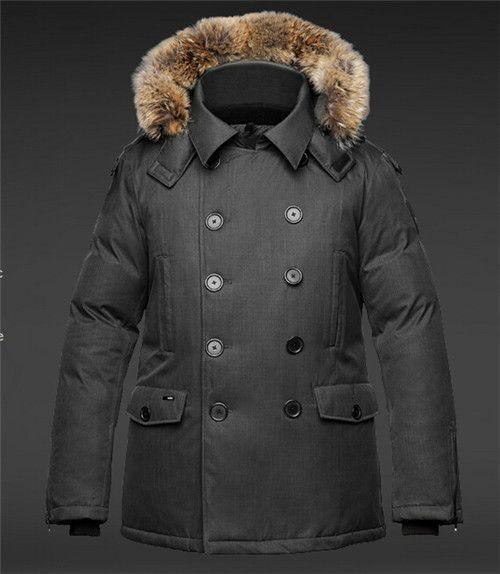 NEW! Hot Sale 2018 Top Copy Men's KATO Peacoat Winter Jacket Arctic Coat Down Parka Hoodie With Fur Sale Sweden