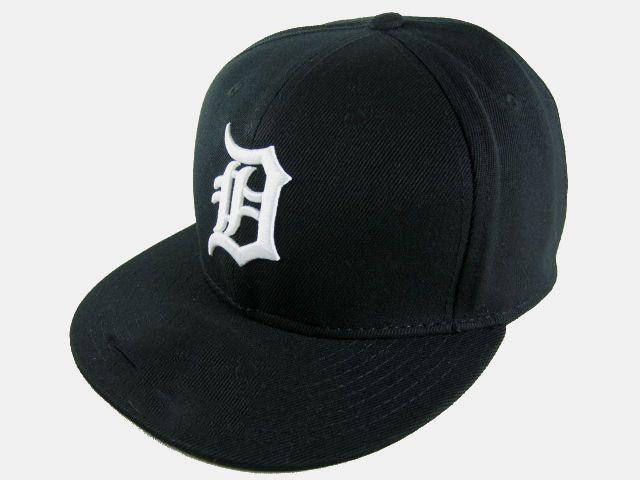 الرجعية ديترويت جاهزة القبعات قبعات البيسبول شقة بريم قبعات قبعات يناسب حجم الكرة نمور فريق Chapeu العظام دي Beisebol