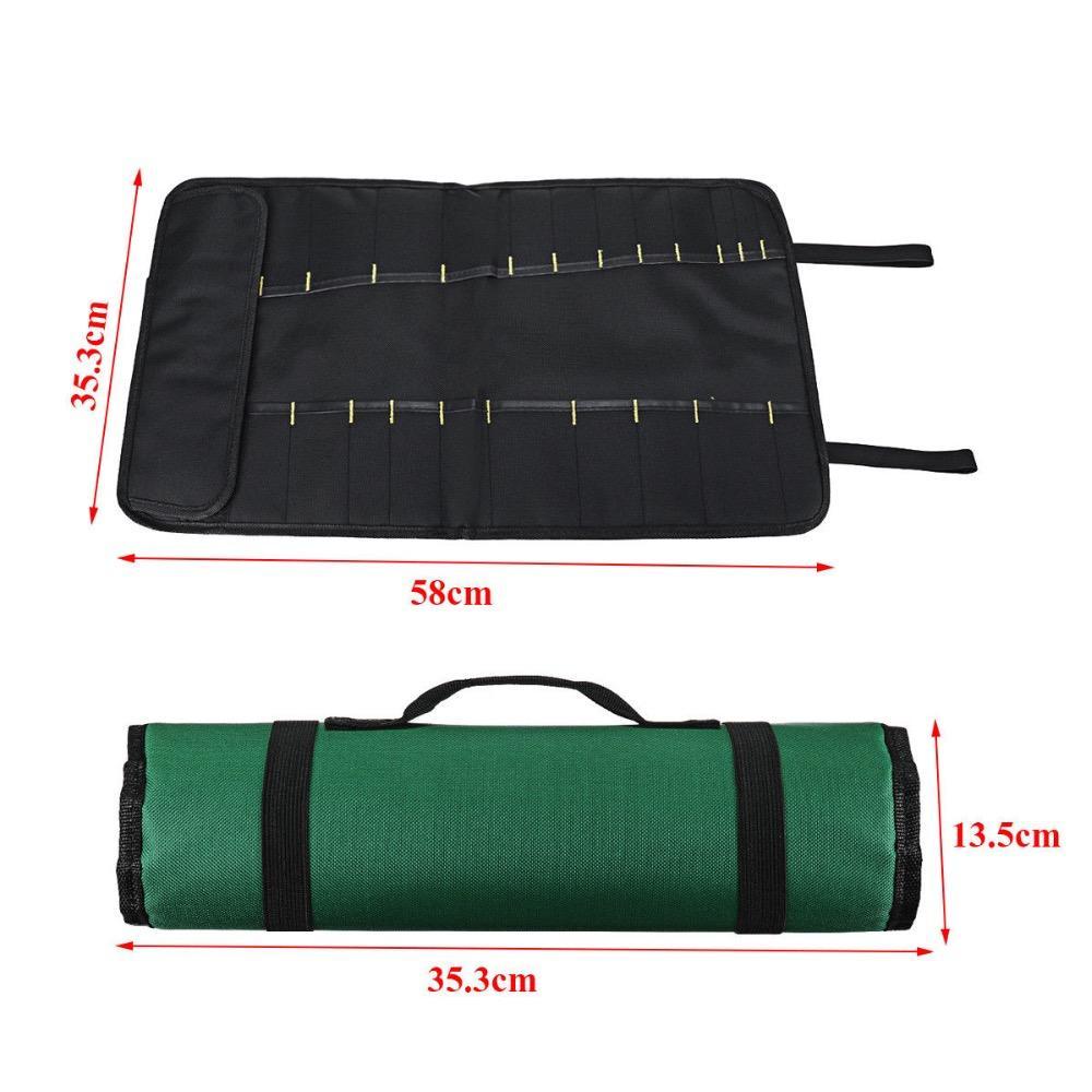 Перенос кармана для хранения 20 шеф-повар нож PCGDW сумка сумка сумка рулона кухня портативный EFKWH