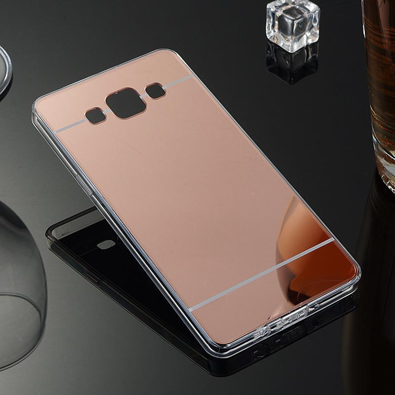 Luxury Mirror Case For Samsung Galaxy A5 2016 Crystal Back Cover ...