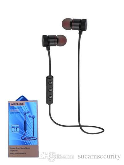 Cheap Good quality Bluetooth Headphones In Ear Wireless Earbuds 4.1 Magnetic Waterproof Stereo Bluetooth Earphones for Sports headset