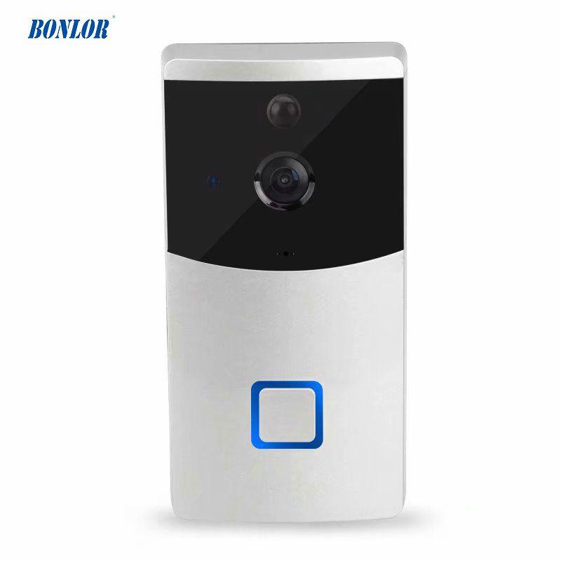 Intelligentes drahtloses Türklingel WIFI-Video-Wechselsprechanlage-wasserdichtes Kamera-Nachtversion PIR-Infrarotdetektor-Mobiltelefongespräch für freies Verschiffen