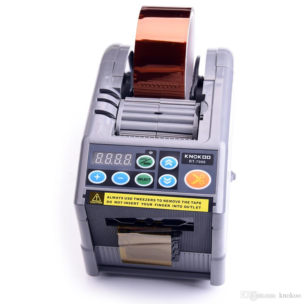 Распределитель автомата для резки клейкой ленты распределителя RT-7000 6-60mm ленты горячего сбывания автоматический электрический
