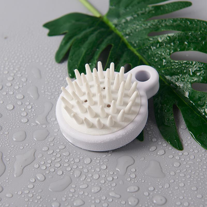 Massaggio della salute del cuoio capelluto shampoo pennello pettine massaggio al silicone pennello meridiano pennello pulizia diretta del cuoio capelluto