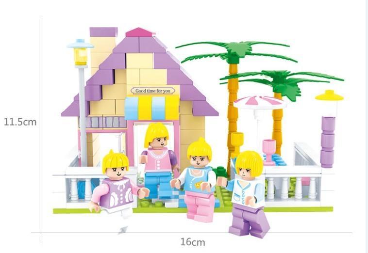 Haus bausteine ziegel pädagogisches spielzeug geburtstagsgeschenk spielzeug für kinder diy spielzeug kompatibel alle marke kinder modelle spielzeug