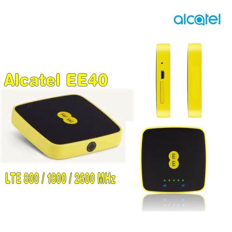 UNLOCKED ALCATEL EE40VB 3G 4G LTE MOBIL BROADBAND MIFI 4GEE WiFi PK Y853