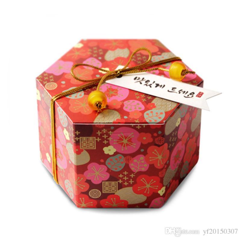 Caja de galletas Día de San Valentín Regalos Cajas Hecho a mano Caja de embalaje de pastelería al horno