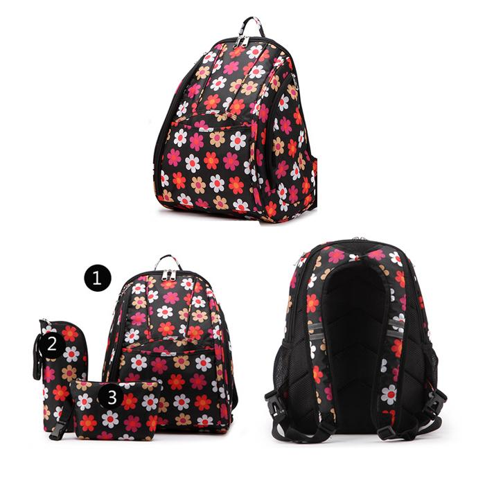 Diaper Bag Set Baby backpack with Changing Nappy Mummy Handbag Shoulder Tote travel shopping luggage carry Holder
