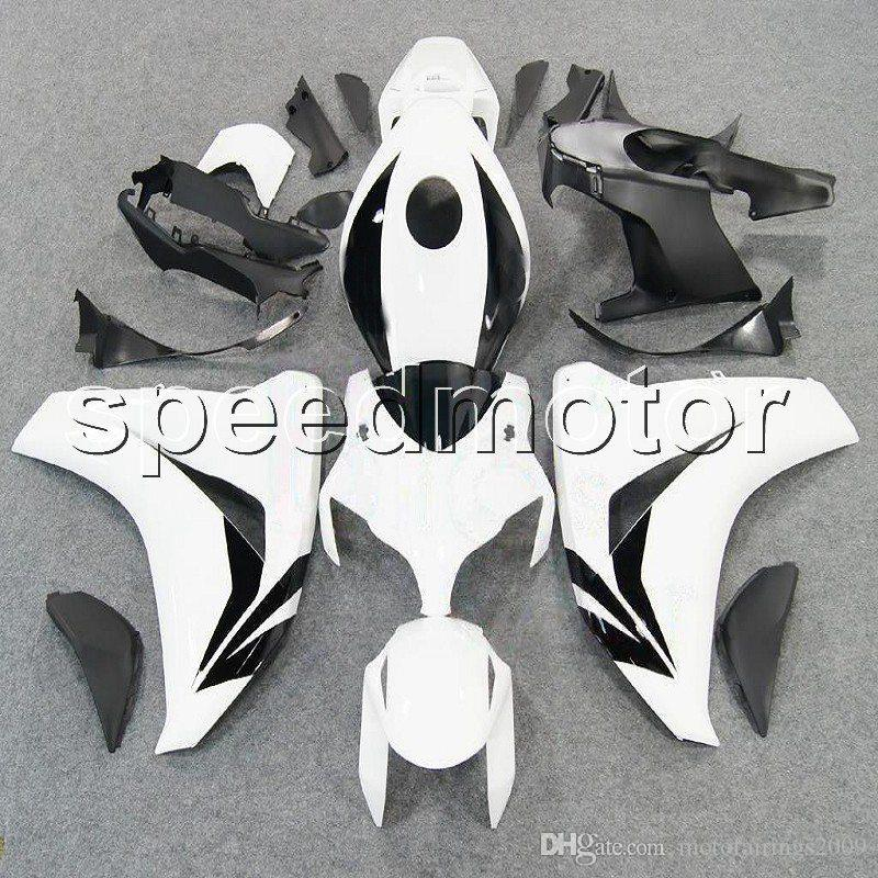 23colors + Gifts Molde de inyección blanco 08-11 CBR1000RR cubierta de motocicleta Carenado para HONDA CBR 1000 RR 2008 2009 2010 2011 Kit de plástico ABS