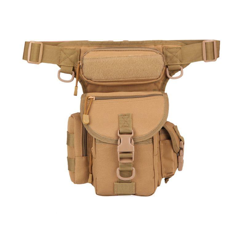 الرجال ماء أكسفورد العسكرية قطرة فاني حزمة للدراجات النارية الساق حقيبة الدراجات النارية الملحقات التكتيكية