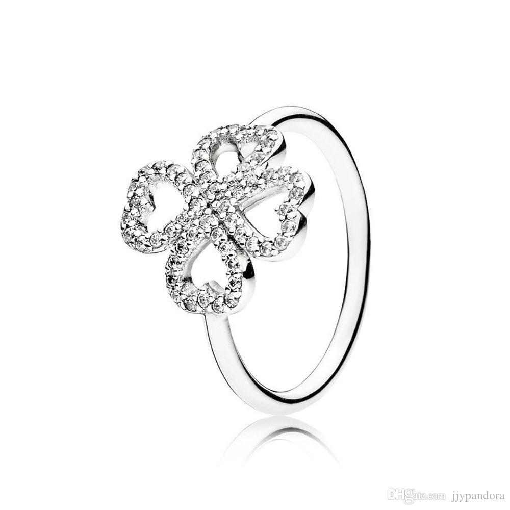 FAHMI 100% de Prata 925 Sterling 1: 1 Original autêntico charme 190978CZ temperamento moda Glamour retro das mulheres anel de casamento Jóias