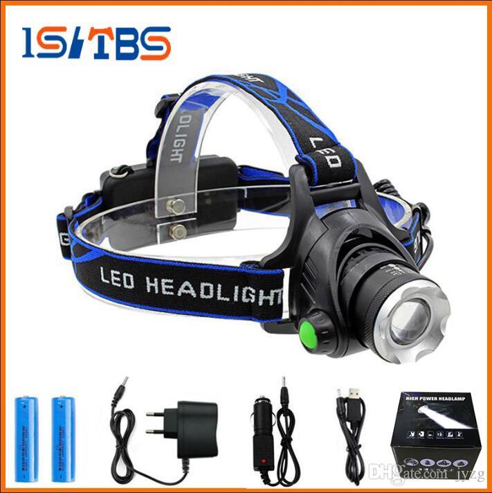 Фары аккумуляторная CREE XML T6 5000Lumens зум фары факел светодиодные фары + 18650 батареи фары фонарик фонарь ночная рыбалка