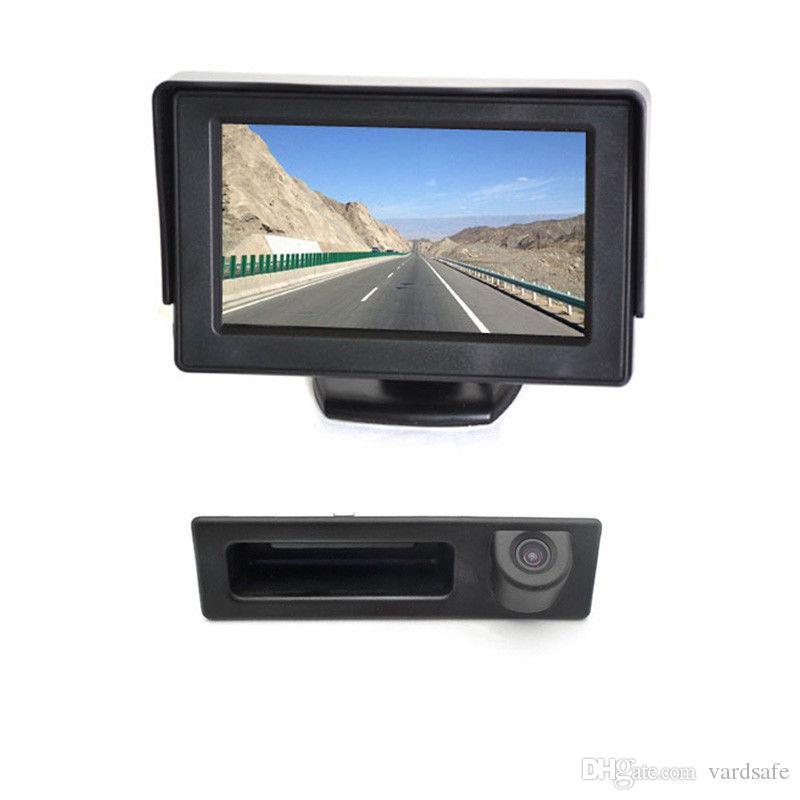 Vardsafe OE546M  . Car Backup Camera + مراقب عدة ل BMW F10 F11 F15 F22 F23 F25 F26 F30 F31 F34 F35