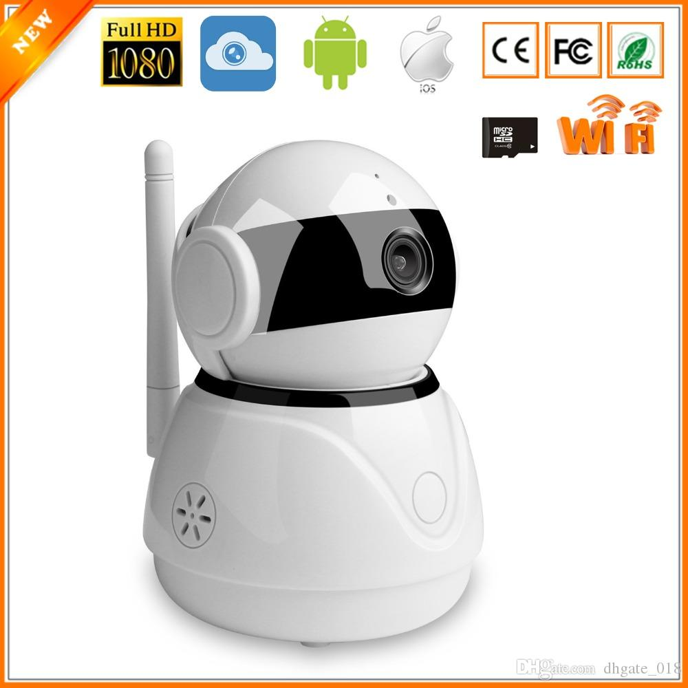 Wifi Surveillance IP Camera Cloud Storage HD 1080P Wireless Mobile APP Control mini CCTV Camera Two ways-Audio Motion Detection