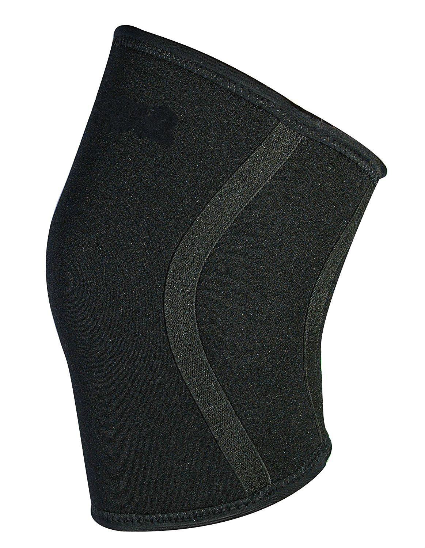 Crossfit игры колено поддержка 7 мм-х-маленький-черный расширить ваши движения + Кросс потенциал тренировки колено рукав