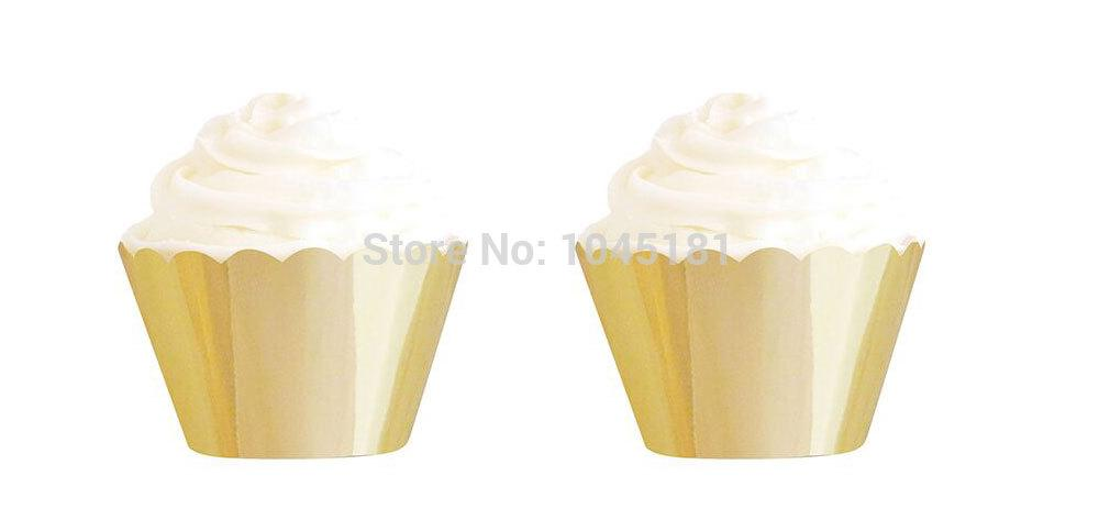 gold-cupcake-wrappers