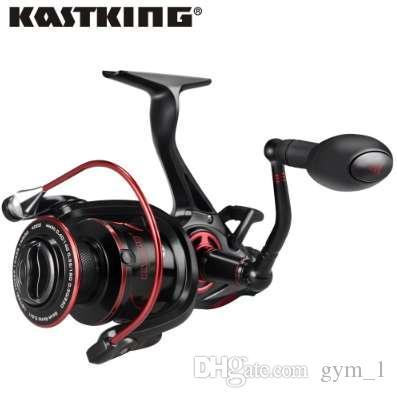 KastKing Sharky Baitfeeder III 12KG 여분 스풀 정면과 후방 끌기 체계를 가진 용 어귀 낚시 어업 담수 방망이